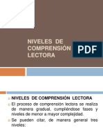 Clase 4-Niveles de Comprension