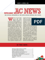 South African Natl AIDS Council April Newsletter