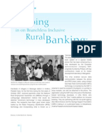 Zeroing in on Branchless Inclusive Rural Banking 21-12-2007