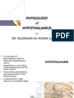 Physiology of Hypothalamus by Dr. Mudassar Ali Roomi