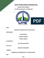 Informe de Maquinas Secuenciales Conteo 0 a 6