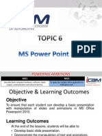 T6 [MS Power Point 2010]