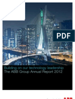 ABB+Group+Annual+Report+2012 English