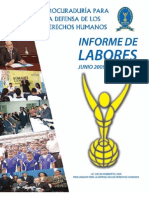 2informe Anual de Labores 2009-2010