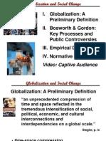 Brief Definition Globalization