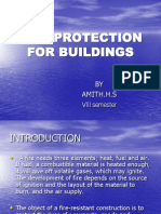 FIRE PROTECTION FOR BUILDINGS