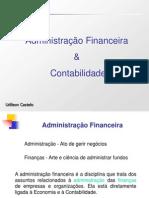 Adm. Financeira & Contabilidade Cap.1