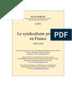 Syndicalisme Policier France