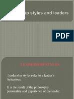 5023 Leadership Style