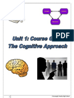 What Do I Need to Learn Cognitive Approach
