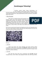Sejarah Perkembangan Teknologi Informasi