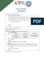 Agenda Tembuilding Eac, Rasnov, 1-3 Martie