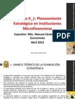 Planeamiento Estrategico Microfinancieras