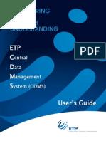 Etp Cdms User Guide