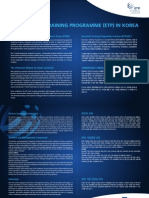 Introduction to ETPK Leaflet 2012-2013