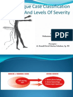 Dengue Case Classification and Levels of Severity