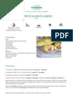 Recetario Thermomix® - Vorwerk España - PERRITO CALIENTE CASERO - 2011-09-28