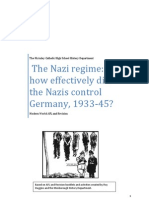 How Did Nazis Control Germany