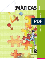 Matematica I - Volumen 1 - Libro Para El Maestro