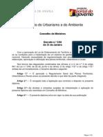 Decreto 2-06 (Angola) - Regulamento Geral dos Planos Territoriais, Urbanísticos e Rurais