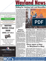The Wayland News May 2013