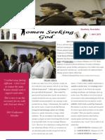women seeking god newsletter--first edition