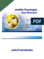 Matematika Keuangan ANUITAS BIASA - Indra Maipita