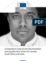 Comparative Study of Anti-Discrimination and Equality Laws of US - Canada - SA - India