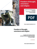 Freedom of Thought Conscience and Religion - CoE