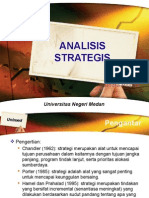 ANALISIS STRATEGIS - SWOT ANALYSIS - BENCHMARKING - ROOT COUSE ANALYSIS - FORCE FIELD ANALYSIS by Indra Maipita