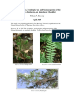 The Lycophytes, Monilophytes, and Gymnosperms of the Delmarva Peninsula, an Annotated Checklist