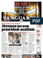 Portada Vanguardia 24032013