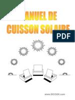 Manuel Cuisson Solaire