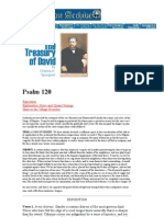 Treasury of David—Psalm 120