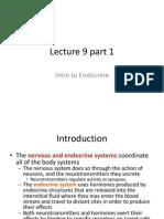 Lecture 9 Part 1