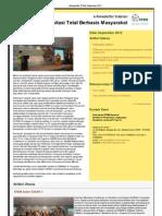 eNewsletter Sanitasi Total Berbasis Masyarakat STBM September 2012