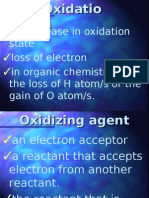Redox Reactions, Applications of Chemistry