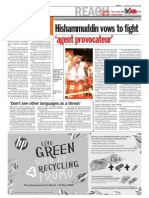 thesun 2009-03-26 page02 hishammuddin vows to fight agent provocateur