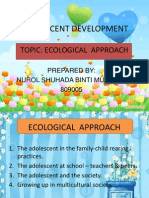 Presentation of Adolescent