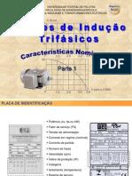 06 Motores de indução trifásico características