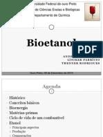 Seminário de Bioetanol