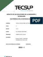 IMPACTO DE LAS SOLUCIONES DE LA INGENIERÍA Y TECNOLOGÍA