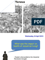 What Was the Impact on Health of Industrial Living