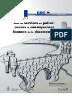 Corruption Dans Les Services de Police_causes Et Consequences_domenii de Risc_FR