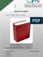 Contrats Civils