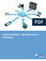 Cloud Computing – The Best Form of IT Delivery