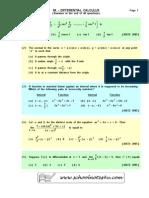 08 - Differential Calculus