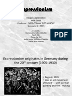 Design Presentation, expressionism