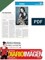 Mónica Naranjo - Diario Imagen - 24.04.13