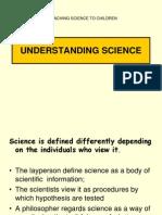 Understanding Sc1ence Curriculum